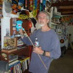 At home with Jim Phillips in Santa Cruz 2010