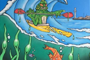Weymouth Kayak Commission complete